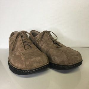 Merrell air cushion size 12 M suede lace up shoes